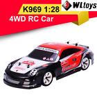 Wltoys K969 RC Car 1:28 Four-wheel 4WD Off-road 2.4G 30km Kids Children Toys