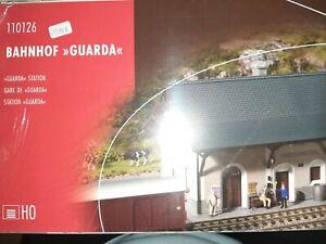 Faller 110126 Bahnhof Guarda OVP