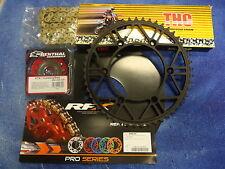 48 O Ring Chain & RFX Steel Sprocket Kit KTM SX EXC SXF 125/200/250/300/350/450