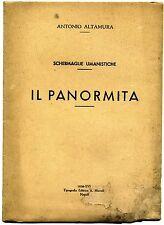 Altamura # IL PANORMITA # Tipografia Editrice Miccoli 1938