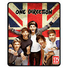 New* ONE DIRECTION 1D Union Jack British Flag Fleece Throw Bedding Blanket