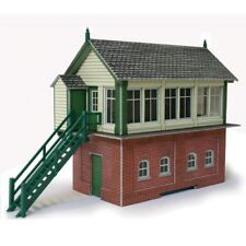 Metcalfe PO233 Signal Box Building Die Cut Card Kit 00 Gauge New -1st Class Post