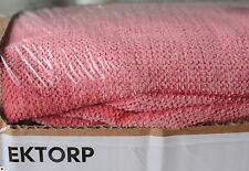 Vellinge Rosa, Ikea Ektorp Couch Bezug 3-er Sofa, NEU, OVP, RAR hochwertig Husse