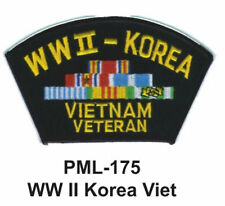 "4""  NEW WW II KOREA VIET-Embroidered Military Large Patch"
