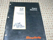 Simplicity Gt Series Attachments and Accessories Tractor Dealer's Parts Manual
