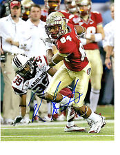 Rodney Smith  Florida State hand signed autographed football photo 2013 Draft