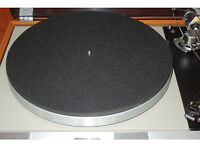 NEW Carbon Fiber Turntable Mat Rega Linn Avid Pro-Ject VPI Music Hall