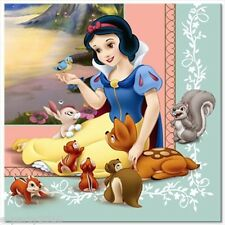 SNOW WHITE LARGE NAPKINS (16) ~ Disney Birthday Party Supplies Dinner Luncheon