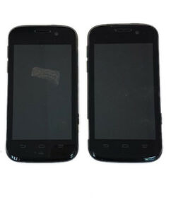2 Lot ZTE Reef N810 Virgin Mobile CDMA Smartphone 4GB Android Touch Screen Black