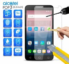 "Pour Alcatel One Touch Pop 3 (5.5"") 5054 - 100% Protection Écran En Verre Trempé"