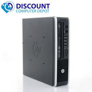 HP Slim Desktop Small Computer PC i5-3570s 3.1GHz 8GB 500GB Windows 10 Pro WiFi