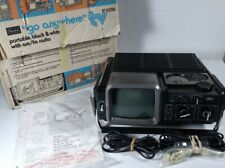 Vintage(1978) Sears Go Anywhere Portable Am/Fm Tv-Radio Model:564.50381700