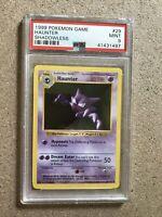 1999 Pokemon TCG PSA 9 Haunter Shadowless Base Set 29/102 WOTC Graded Slab