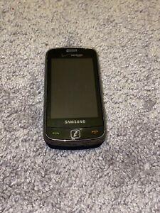 Samsung Rogue SCH-U960 Black Verizon Wireless Touchscreen Cell Phone Qwerty 3G