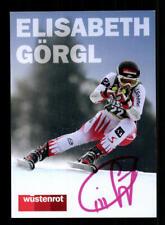 Elisabeth Görgl Autogrammkarte Original Signiert Skialpin + A 212025