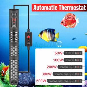 Aquarium Submersible Heater Fish Tortoise Tank Water Auto Thermostat 50W-500W AU