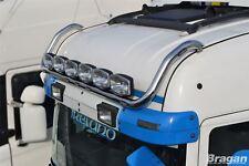To Fit Scania P G R 6 Series 2009+ Highline Roof Bar + Jumbo Spots + Flush LEDs