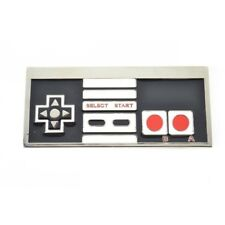 Nintendo Controller Belt Buckle Games NES 80s 90s Classic Gamer Prop Retro Gift