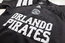 Orlando Pirates Adidas tango s/s shirt jersey black S football VGC