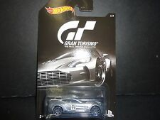 Hot Wheels Aston Martin One-77 Silver Gran Turismo 1/64