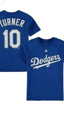 NWT Justin Turner #10 Majestic Name and NumberJersey Shirt Youth Size L 12-14