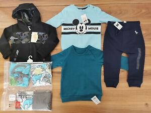 boys 12-18 months bundle autumn winter jumper pyjamas all new TU George Pepco