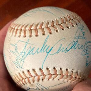 1974 Cincinnati Reds Signed Baseball Ss Sparky Anderson Joe Morgan Pete Rose Psa
