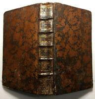 1766 BOURDALOUE PENSEES AMITIES EGLIFE NOEL +RELIURE+ RELIGION BIBLE LIVRE BOOK