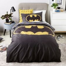 DC Comics Batman Logo Queen Bed Quilt Cover Set