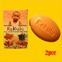 2 oder 6 x 70g KEKULU Ayurveda Kräuter Kinder Baby Pflege Seife Children Soap