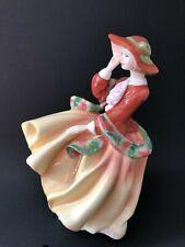 "Royal Doulton Bone China ""Abigail"" figurine doll"