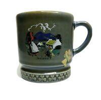 Vintage Irish Wade Ireland Coffee Small Cup Mug Collector Souvenir Porcelain