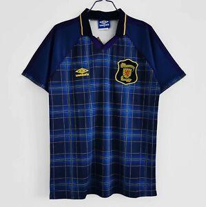 1994-96 Scotland Home Retro Soccer Jersey