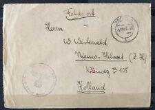 NEDERLAND; VELDPOSTBRIEFJE verstuurd naar Nederland (3)