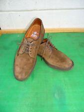 Alden  Style 94311 Brown Suede Leather  Plain Toe Blucher Men Shoe SZ# 8 B/D