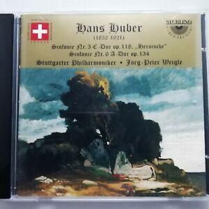 Hans Huber: Symphonies 3 & 6 / Weigle / Stuttgart PO / Sterling CD CDS-1037-2