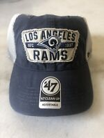 '47 Brand Los Angeles Rams Adjustable Snapback Mesh Hat Nfl