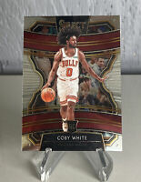 Coby White 2019-20 Panini Select Concourse #48 RC Base Chicago Bulls Rookie
