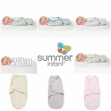 Summer Infant 7-14lbs Baby Swaddle Me Swaddling Wrap Blanket Sleeping Bag