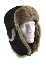 Rothco Winter Bomber Hat Warm Aviator Fur Flyer's Trapper Cap