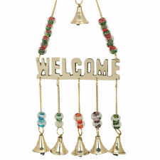Welcome Design Beautiful Chime With Polished Brass Bells About 1 Inch String