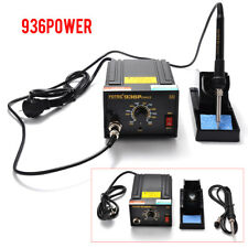 1x 220V 110V 936 Power Iron Frequency Change Desolder Welding Soldering Station