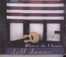 Where Do I Begin-Jeff Jones-2002-MusicCD-Limited Ed-Pop-BRAND NEW&SHRINK WRAPPED
