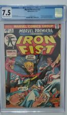 Marvel premiere 15 cgc 7.5  1st Iron Fist
