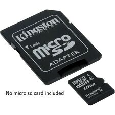 1xT-Flash TF Micro SD to SD Memory Card Reader ADAPTER for 2gb 4gb 8gb 16 gb 32g