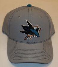 Del hockey sobre hielo de NHL de la tapa de tiburones San Jose talla Reebok gorra Snapback gorra