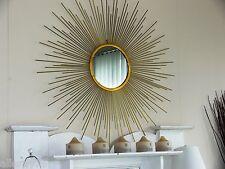 *SUPERB  1 meter diameter SUNBURST starburst GOLD  MIRROR   NEW