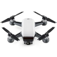 Used DJI Spark Fly More Combo Mini Drone (Alpine White) (Excellent Condition)