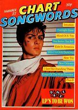 Simon Le Bon on Chart Songwords Number 27 Magazine Cover 1981   Classix Nouveaux