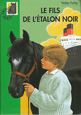 Livre le fils de l'étalon noir  Walter Farley bibliothèque verte book